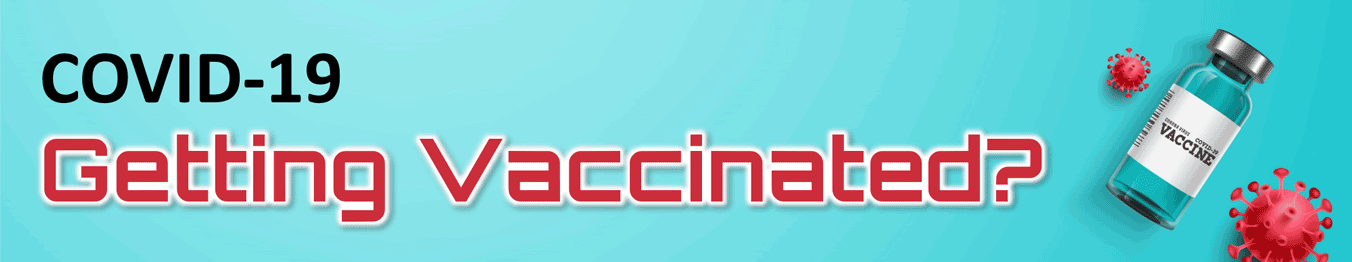 Vaccine sample donation banner